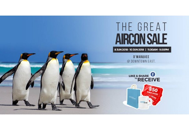 The Great Aircon Sale at D'Marquee @ Downtown East