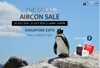 The Great Aircon Sale @ Singapore Expo