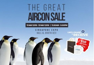 Great Aircon Sale @ Expo