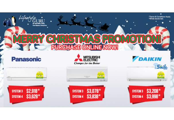 MERRY CHRISTMAS AIRCON PROMOTION