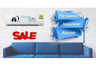 Beat The Heat With Pre-owned Japanese Brands Aircon Super Deals!