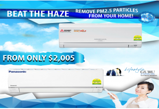 BEAT THE HAZE & CLEAN OUT PM2.5 PARTICLES FROM YOUR HOME!