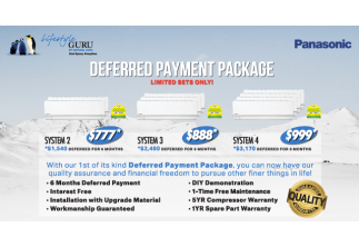 Deferred Payment Package Is Back! Limited time only.